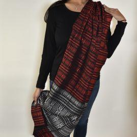 Katoenen sjaal uit Sumatra