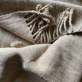 Uniek: lotus zijde sjaal uit Myanmar