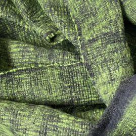 Green yak woolen scarf form Nepal