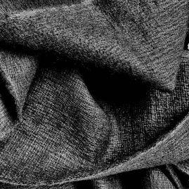 Zwarte sjaal van yakwol
