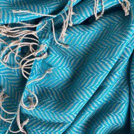 Turquoise fishbone
