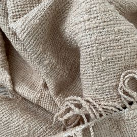 Cotton scarf in sand from Cambodia