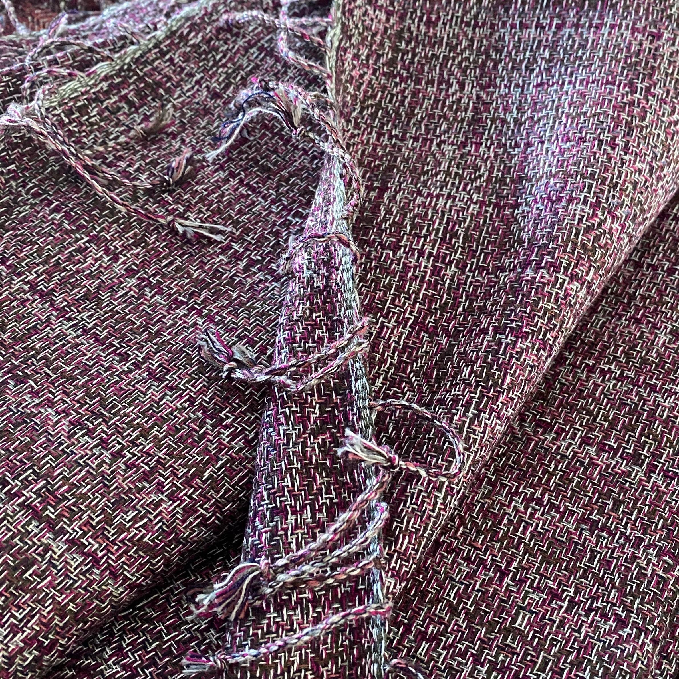 All colour sjaal in paarstinten